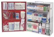 Medi First First Aid Kit - 3-Shelf Industrial Cabinet - D&T Industrial Supply