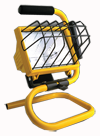 Bayco 500W Portable Halogen Work Light - 18/3 SJTW - D&T Industrial Supply