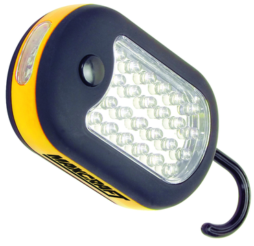 Maxcraft 27-LED Compact Worklight; 2-in-1 Design - D&T Industrial Supply
