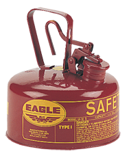 Eagle #UI2S; 1 Quart Capacity - Type I Safety Can - D&T Industrial Supply