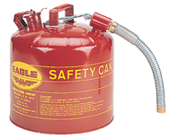Eagle #U251S; 5 Gallon Capacity - Type II Safety Can - D&T Industrial Supply