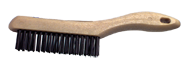 "DQB Industries 5 1/2"" x 10"" - Tempered Steel Hand Scratch Industrial Hand Brush - D&T Industrial Supply"