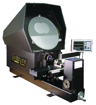 "Suburban #MV14P - 14'' Screen Size - .0002"" Resolution - Optical Comparator - D&T Industrial Supply"