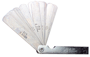 "General #226 - 26 Leaf - .0015 to .025"" Range - Thickness Gage - D&T Industrial Supply"