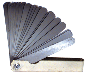 "General #226T - 26 Leaf - .0015 to .025"" Range - Tapered Thickness Gage - D&T Industrial Supply"