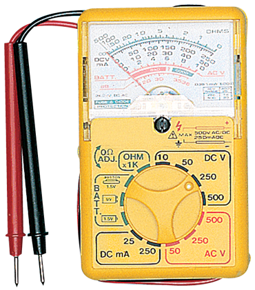 General #AM35UL - Measures AC/DC to 500V - Analog Multimeter - D&T Industrial Supply