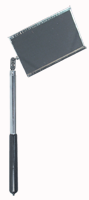 "General #560 - 3-1/2 x 2'' Rectangular - 11-1/2"" (Extendable) Arm - 16'' OAL - Inspection Mirror - D&T Industrial Supply"