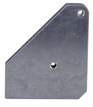 Mag-Mate Magnetic Welding Square - Covered Heavy Duty - 3-3/4 x 3/4 x 4-3/8'' (L x W x H) - 75 lbs Holding Capacity - D&T Industrial Supply