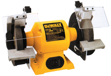 DeWALT Bench Grinder - #DW758; 8'' Wheel Size; 3/4HP Motor - D&T Industrial Supply