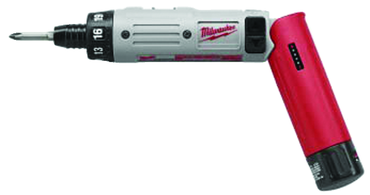 "Milwaukee #0490-22 - 4V Li-Ion - 1/4"" Hex Drive - Cordless Screwdriver - D&T Industrial Supply"