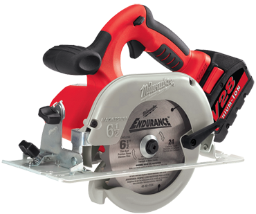 Milwaukee #0730-22 - 28V - 4200 RPM - 6-1/2'' Blade - HAZ05 - Cordless Circular Saw - D&T Industrial Supply