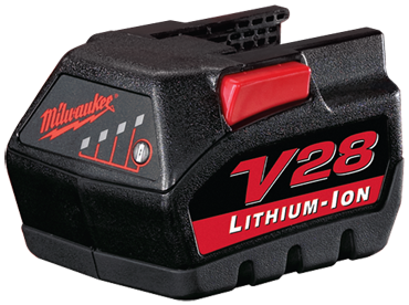 Milwaukee #48-11-2830 - 28V - Fits: Milwaukee 072424 - Battery Pack - D&T Industrial Supply