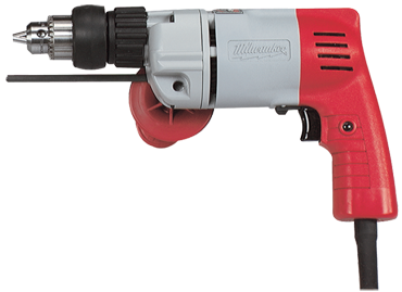 Milwaukee #5378-20 - 6.5 No Load Amps - 0 - 950/ 0 - 3200 RPM - 1/2'' Keyed Chuck - Corded Heavy Duty Hammer Drill - D&T Industrial Supply