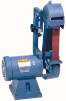 Baldor Belt Grinder - #2048-151D; 2 x 48'' Belt; 1.5HP; 1PH; 115/230V Motor - D&T Industrial Supply