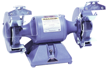 Baldor Bench Grinder - #612; 6 x 3/4 x 1/2'' Wheel Size; 1/3HP; 1PH; 115V Motor - D&T Industrial Supply
