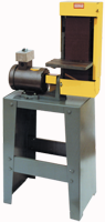 Kalamazoo Belt Sander-with Stand - #S6MS-1; 6 x 48'' Belt; 3HP; 1PH; 110/220V Motor - D&T Industrial Supply