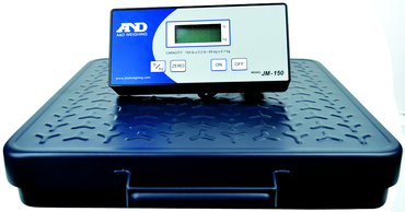 AND #JM150 - 150 lb x .2 lb (65 x .1kg) Capacity - Shipping Scale - D&T Industrial Supply