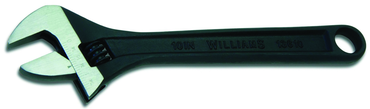 Snap-On/Williams 1-1/2'' Opening - 12'' OAL - Black Finish Adjustable Wrench - D&T Industrial Supply