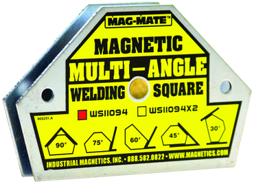 Mag-Mate Magnetic Welding Square - 45 lbs Holding Capacity - D&T Industrial Supply