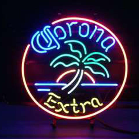 Corona Extra Crown Logo Promotional Beer Sign New Bar Mirror Neon