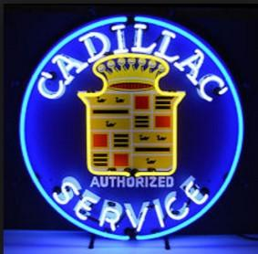 CADALLIC Service Neon Sign