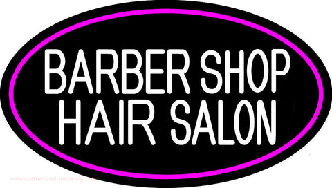 Barber Shop Hair Salon Neon Sign