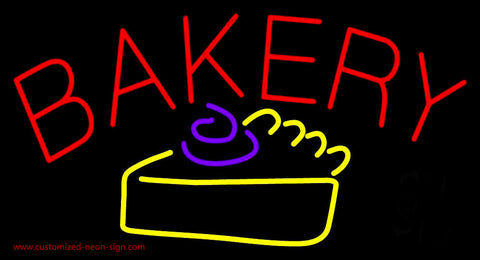 Bakery Logo Neon Sign
