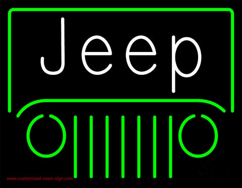 Jeep Neon Sign