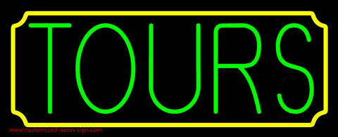 Green Tours Neon Sign