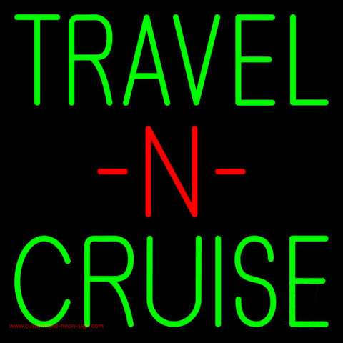 Travel N Cruise Neon Sign