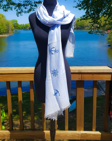 Anchor Scarf By Breeke