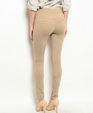 Jeggings With Pocket Detail