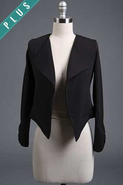 Blazer Jacket- Plus Size