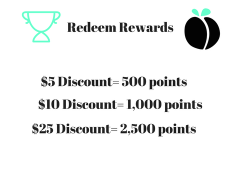 Party Peach Rewards