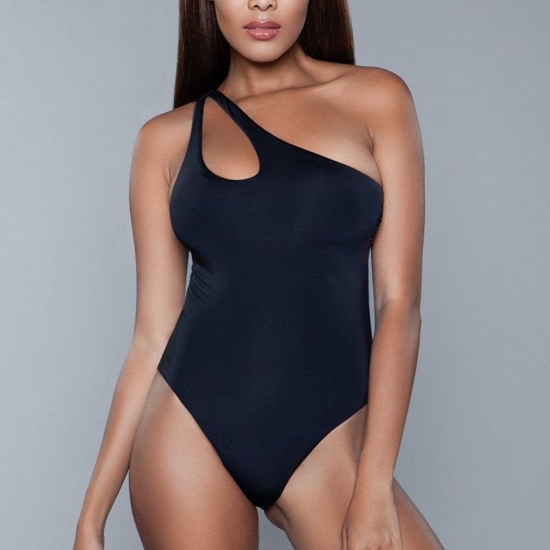 Penelope One Shoulder One Piece Swimsuit