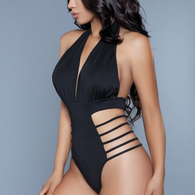 Willow Deep V Backless One Piece