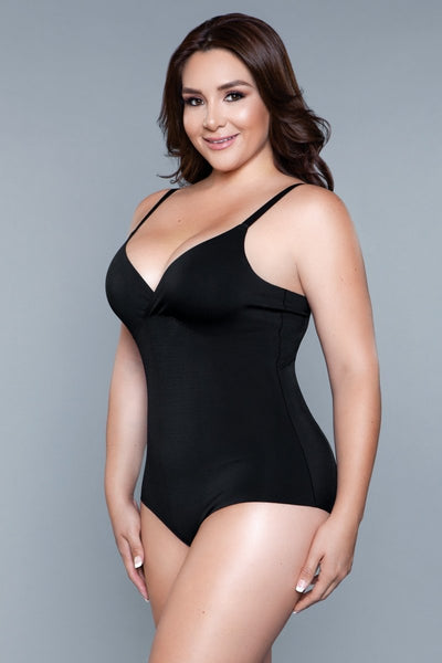 Willow Shapewear Bodysuit - Black