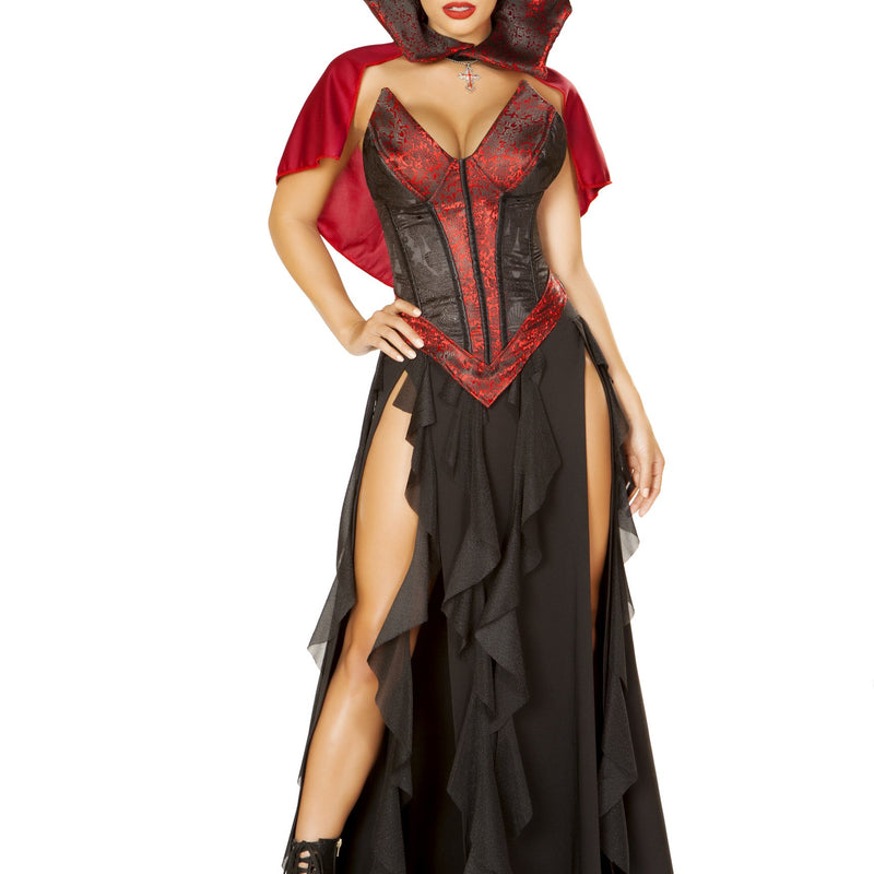 4864 - Roma Costume 3pc Blood Lusting Vampire Evil Blood Sucking Sexy