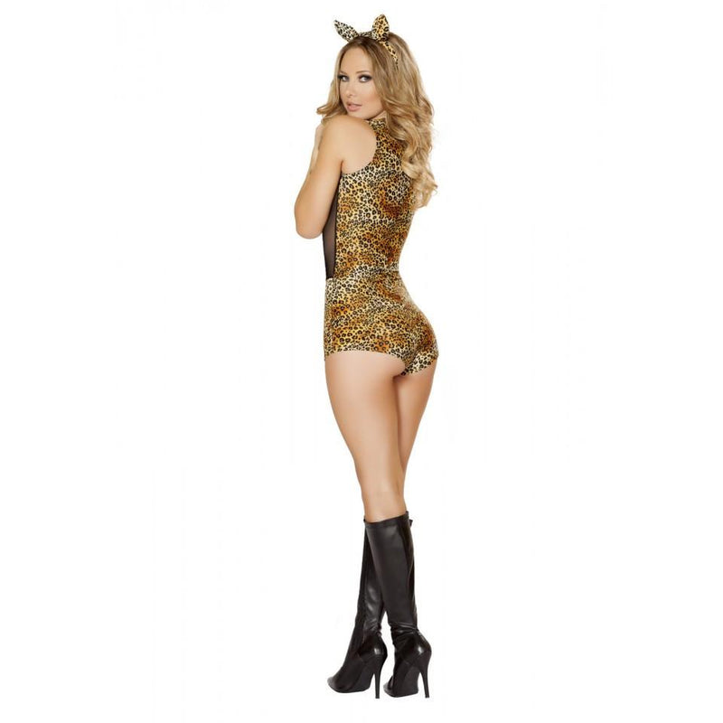 4512 2pc Seductive Jungle Cat Costume - Roma Costume Costumes,New Products,2014 Costumes - 2