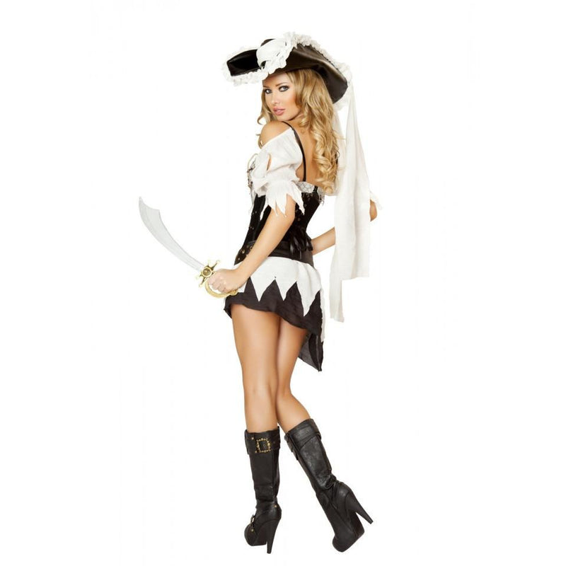 4528 5pc Sexy Shipwrecked Sailor Costume - Roma Costume Costumes,New Products,2014 Costumes - 2