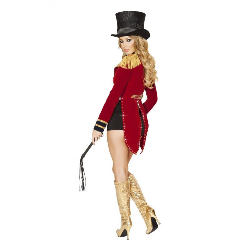 4518 6pc Seductive Circus Leader Costume - Roma Costume New Products,Costumes,2014 Costumes - 2
