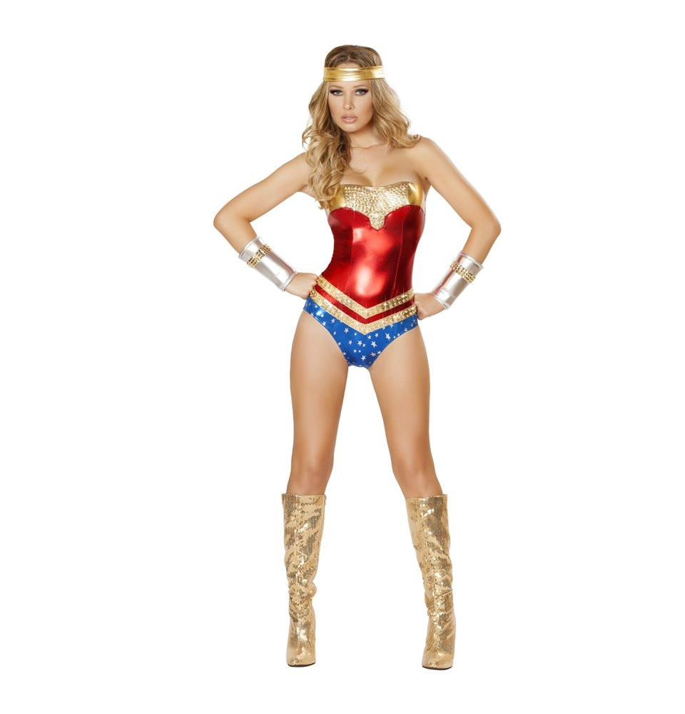 4485 2pc Superhero Hottie Costume - Roma Costume New Products,Costumes,2014 Costumes - 1