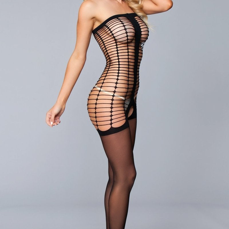 Mila Crotchless Body Stocking