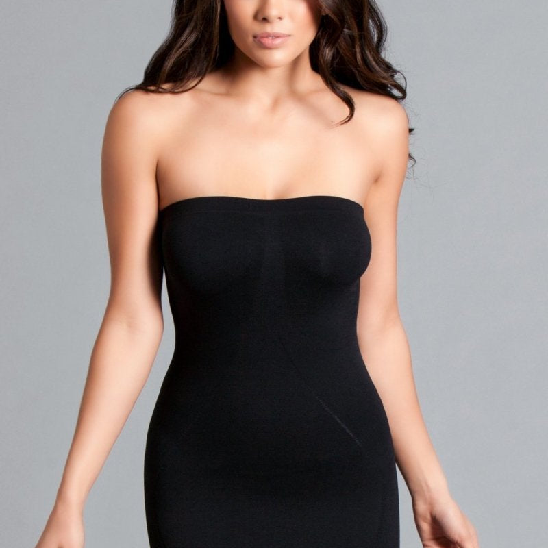 Piper Tube Shapewear Dress - Black