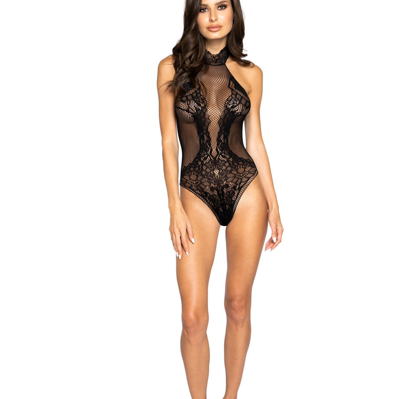 Halter Bodystocking Teddy