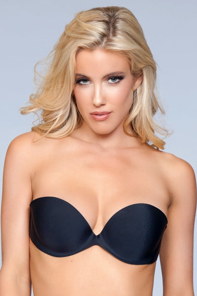 Autumn Strapless Adhesive Bra - Black