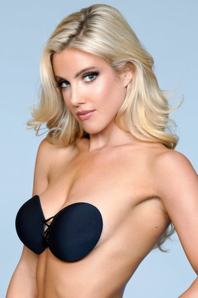 Gianna Close Ties Adhesive Bra - Black