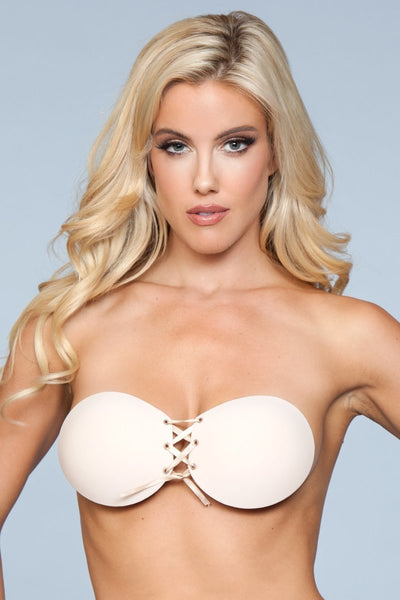Gianna Close Ties Adhesive Bra - Nude