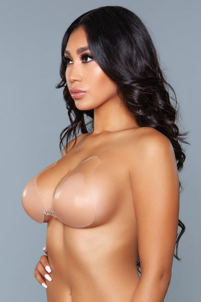 Nevaeh Lifted Silicone Cups Large - Nude