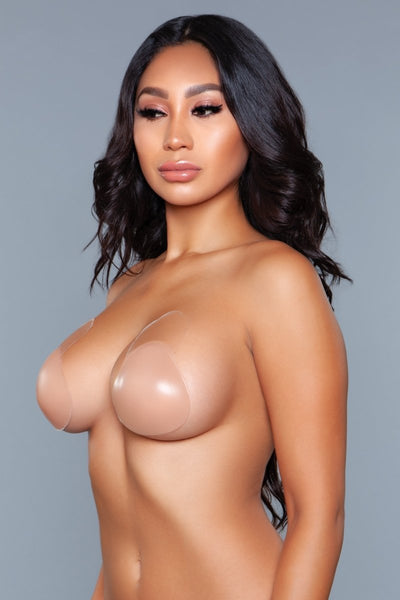 Nevaeh Lifted Silicone Cups Small - Nude